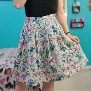 Modcloth Ethereal Expression Constellation Skirt